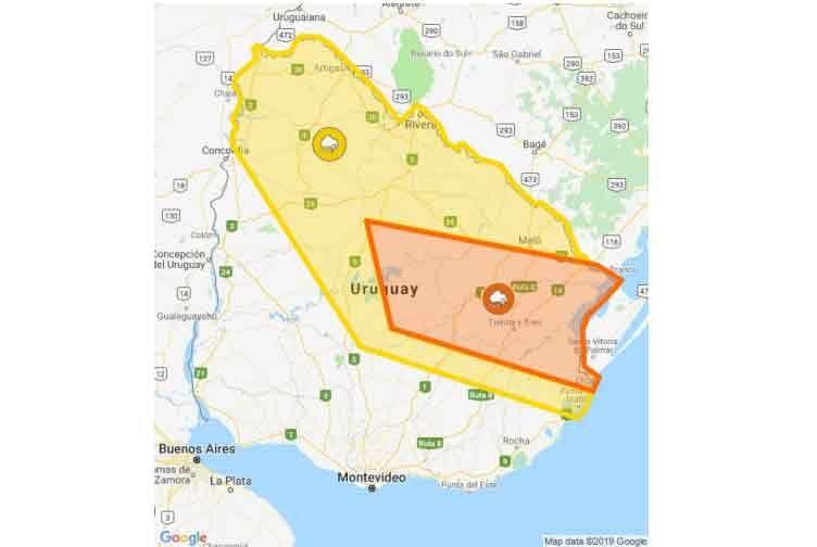Otra alerta por lluvias y tormentas afecta al norte y noreste del país