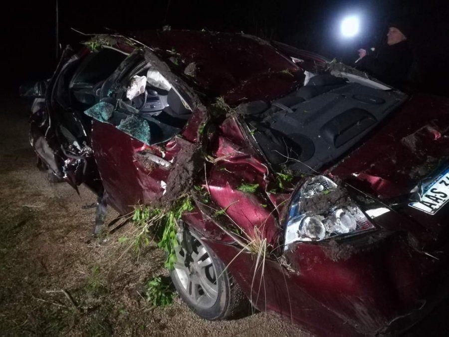 Un médico de Sarandí Yi perdió la vida en un accidente en ruta 6