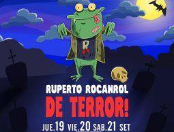 """Ruperto Rocanrol de Terror"" en Montevideo Music box"