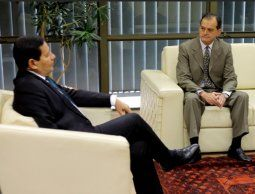 Manini Ríos se reunió con el vicepresidente de Bolsonaro en Brasilia
