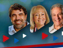 Andrade, Cosse y Conde, cabezas de listas al Senado del sublema Unidad para los Cambios