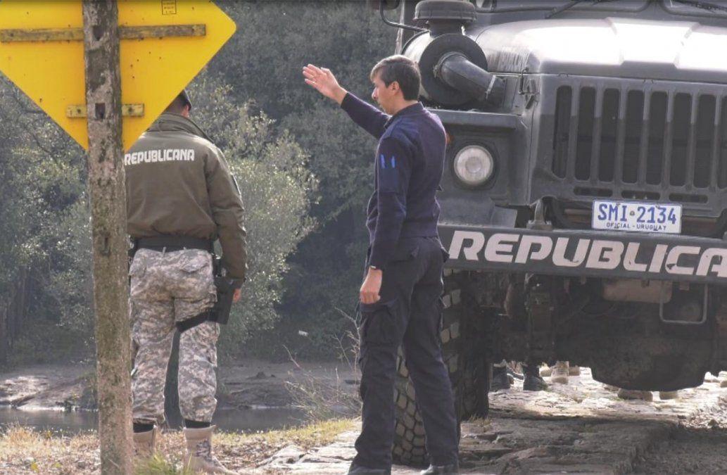 Realizan la reconstrucción del caso Amparo Fernández en Sarandí Grande