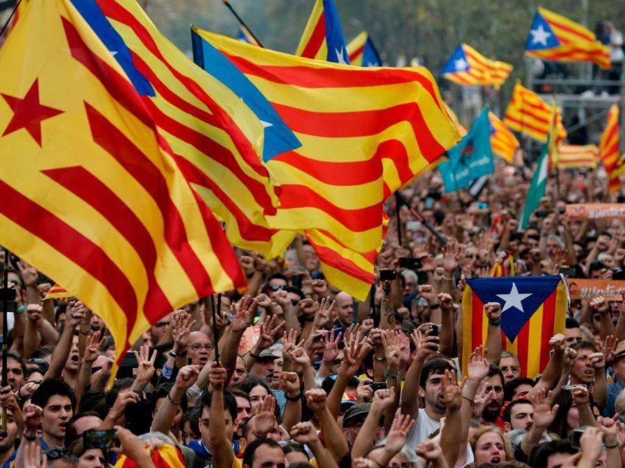 Separatistas catalanes detenidos en preparación de supuestos atentados terroristas