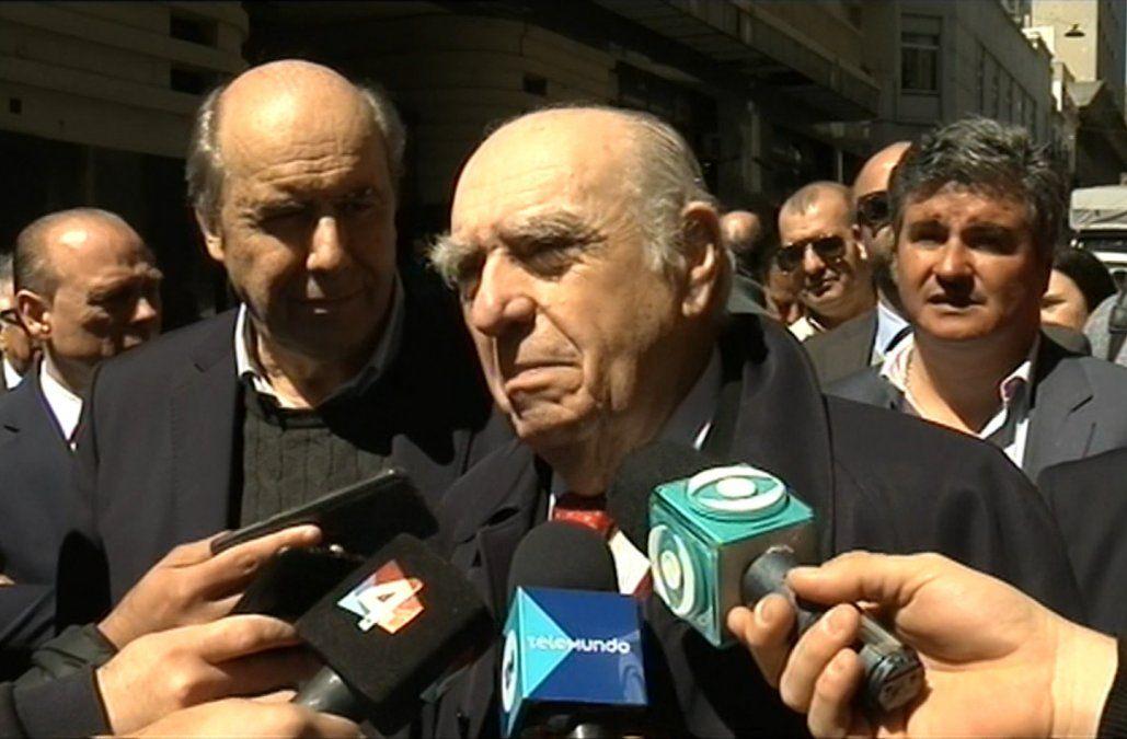 Sanguinetti también pidió un debate entre tres o un mano a mano Martínez-Talvi