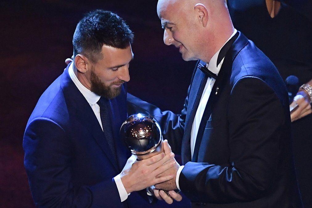 Lionel Messi ganó el premio The Best al mejor futbolista en 2019