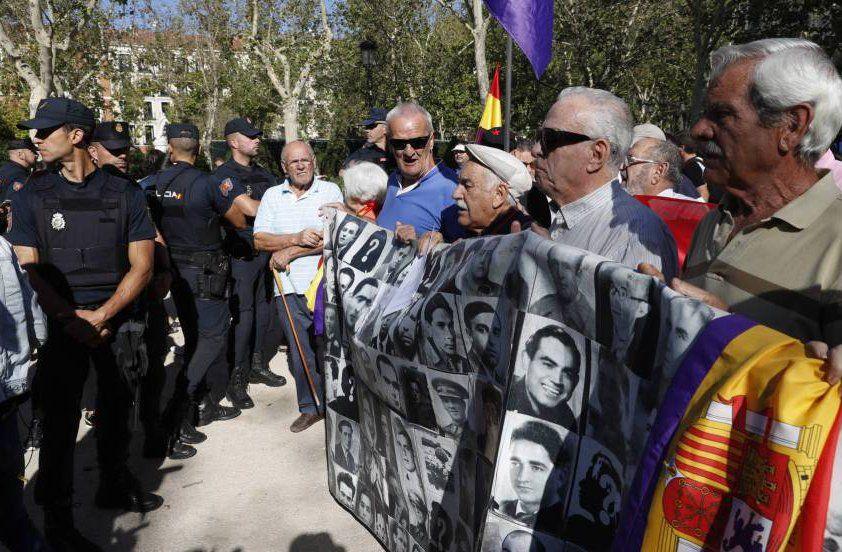 Colectivos en defensa de la memoria histórica