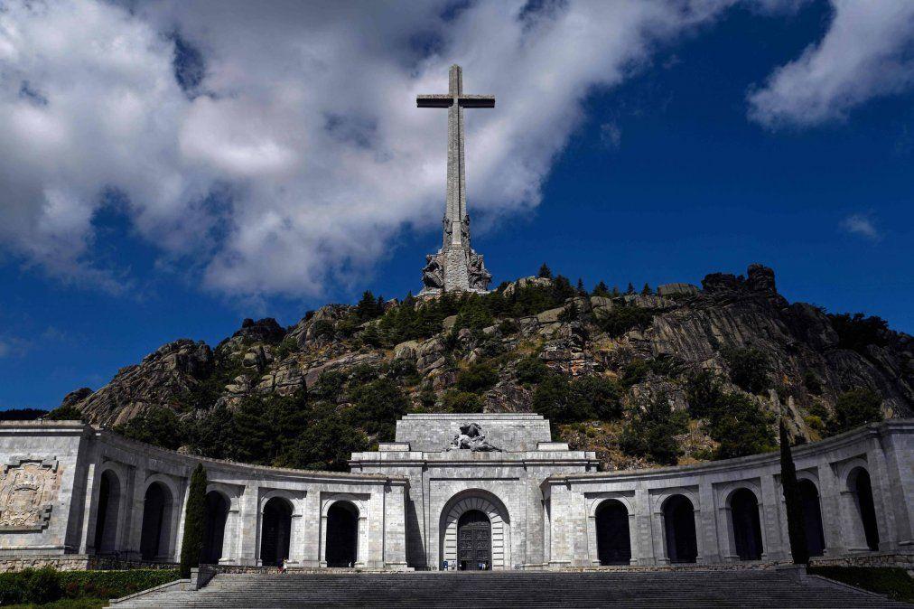 Franco ordenó en los 40 la construcción del mausoleo para que fuera un momunento al proceso falangista