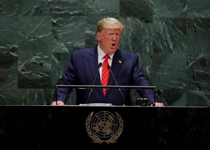 Trump dijo ante la ONU  que el presidente de Venezuela Nicolás Maduro es un títere de Cuba