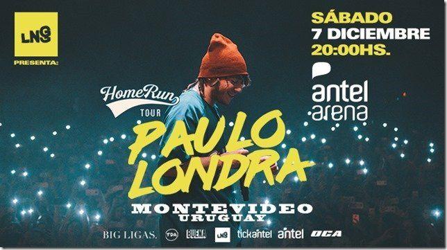 Paulo Londra llega a Montevideo para presentar #HomeRunTour