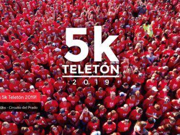 El sábado 5 de octubre se realizará la 7ª edición de la 5K Teletón