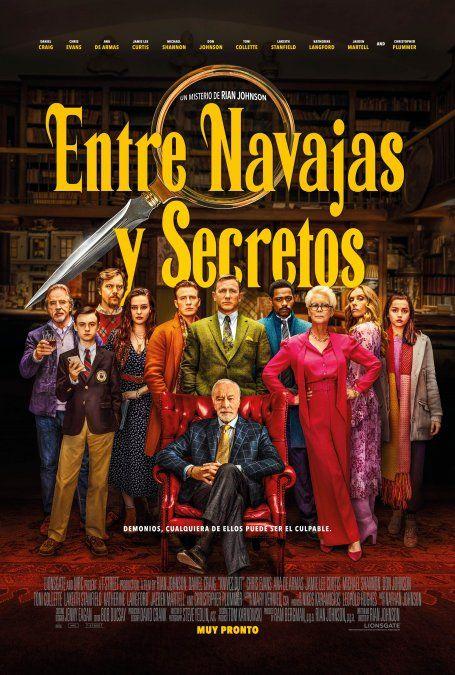 Se estrenó nuevo tráiler de la película Entre Navajas y Secretos