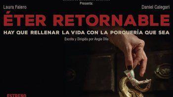 """Éter retornable"" se presenta en octubre en La Cretina"