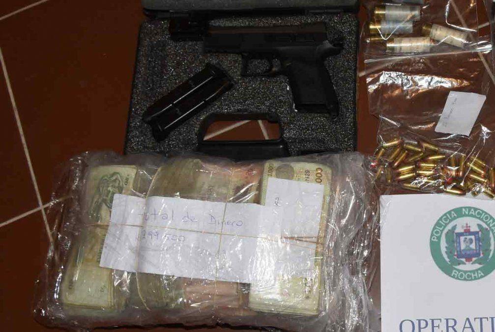 22 personas detenidas en Rocha con drogas y 300.000 pesos incautados