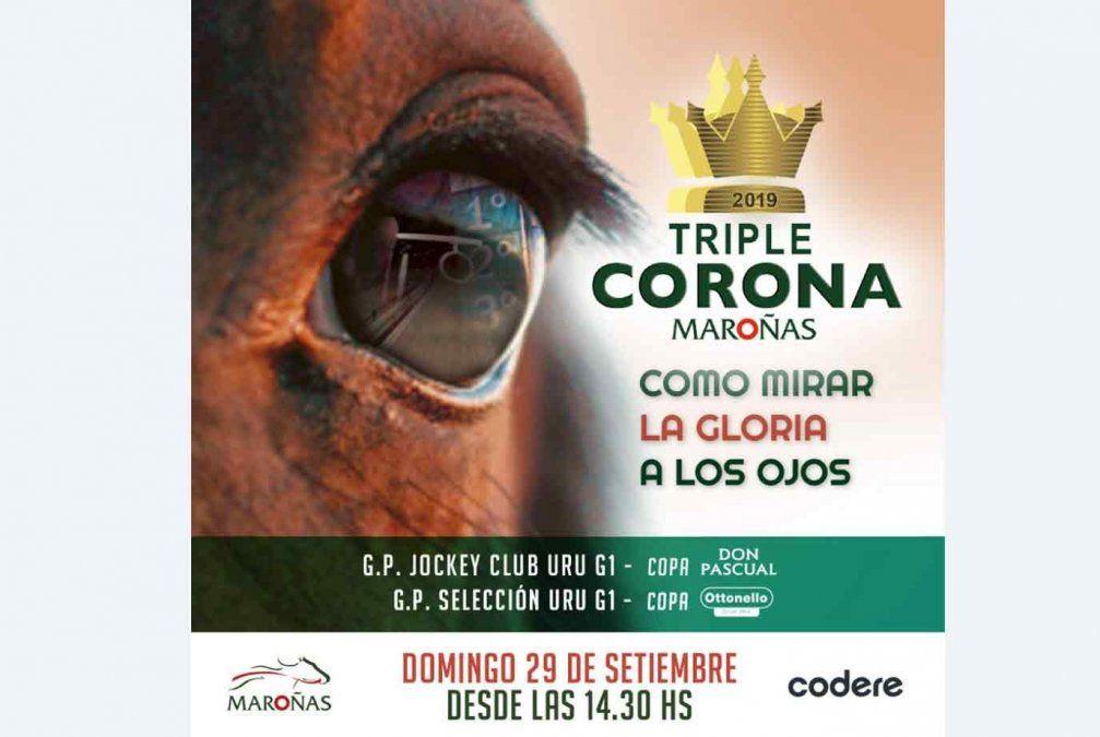 Jornada solidaria en Melo y Triple Corona en Maroñas