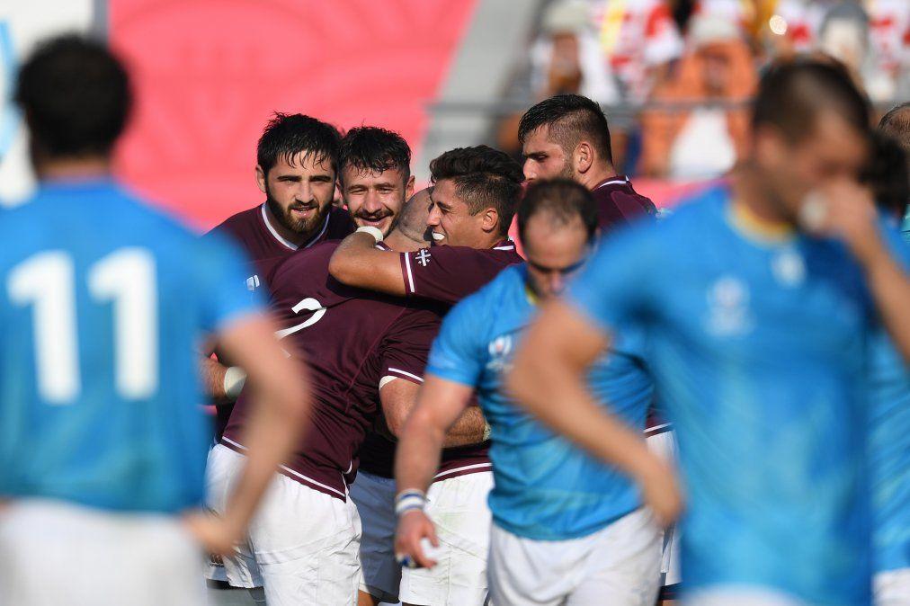 Uruguay cae ante Georgia y se queda sin su sueño de ganar dos partidos