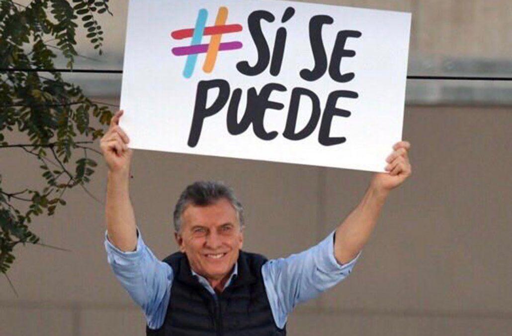 Foto: Twitter Mauricio Macri