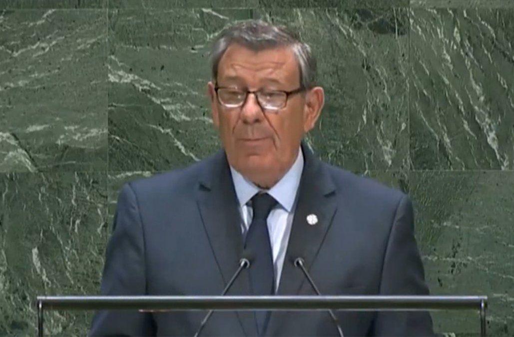 Nin Novoa en la ONU: reiteró rechazo a salida armada para crisis en Venezuela