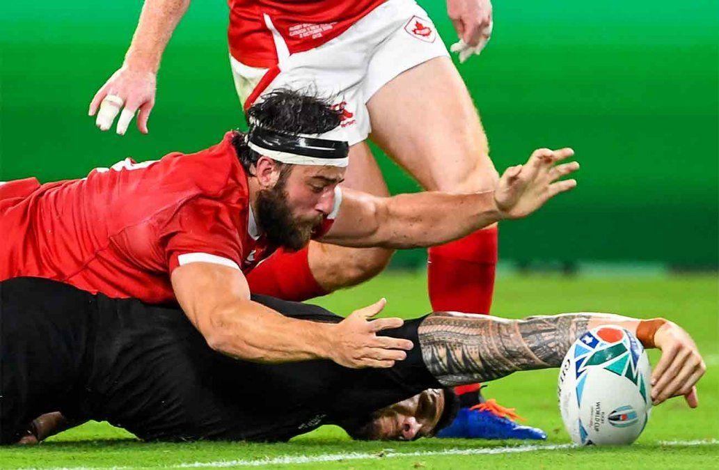Los All Blacks destrozan a Canadá 63-0 en Mundial de rugby