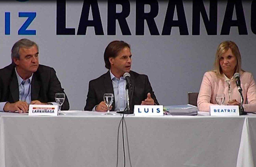 Lacalle asegura que Uruguay tiene una crisis de confianza que se refleja en la economía