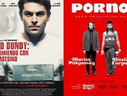 """""""Ted Bundy: durmiendo con el asesino"""" y """"Porno para principiantes"""", para ver en el cine"""