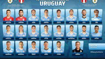 Están a la venta las entradas para el partido de Uruguay contra Perú