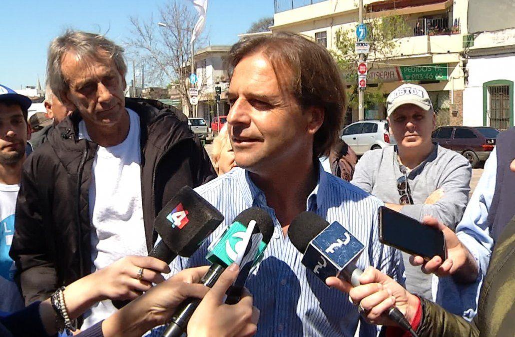 Lacalle dijo que hubo un pacto de silencio en el Poder Ejecutivo sobre caso Gavazzo