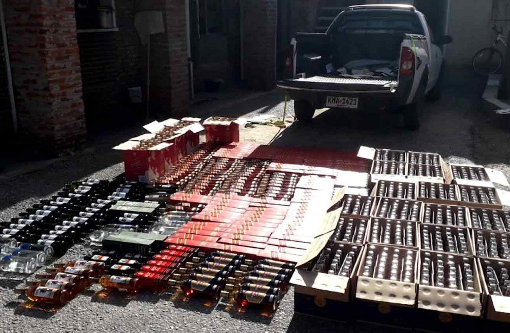 Dos hombres fueron detenidos por contrabando de bebidas alcohólicas