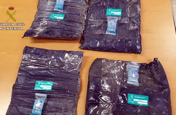 Cae banda narco en Tenerife con cocaína procedente de Montevideo: hay dos uruguayos detenidos
