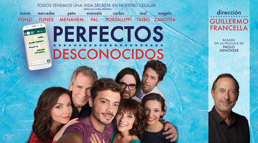 En noviembre llega al Teatro Metro Perfectos Desconocidos