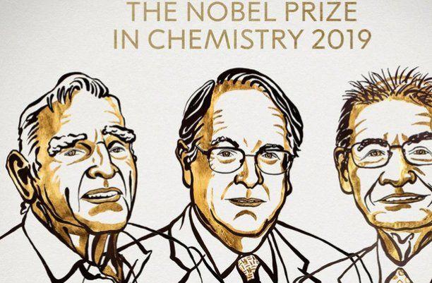 Nobel de Química 2019 para creadores de la batería recargable de litio