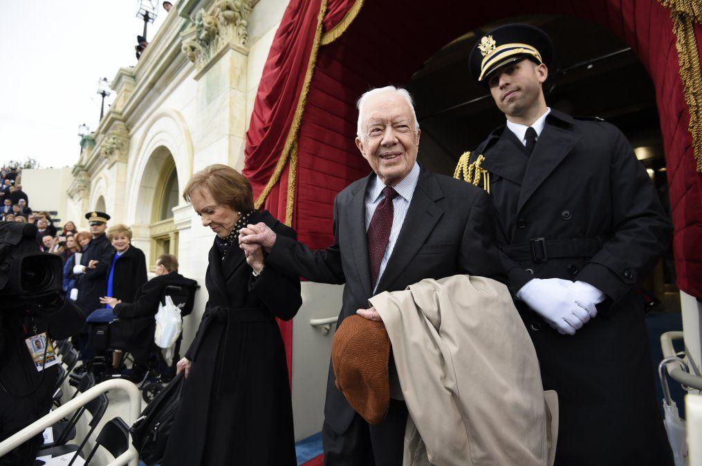 A los 95 años Carter sugiere a Trump que piense un poco más lo que dice y hace
