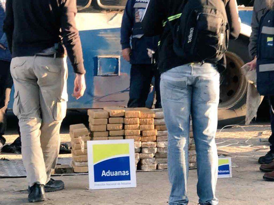 Prisión preventiva para 5 integrantes del ómnibus paraguayo con 800 kilos de marihuana