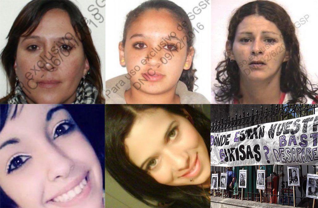 ¿Dónde están nuestras gurisas? Buscan a estas 5 mujeres desaparecidas