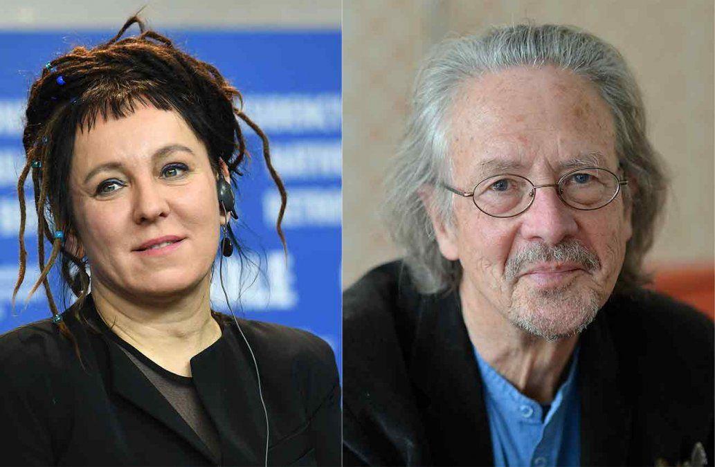 Polaca Olga Tokarczuk y austriaco Peter Handke reciben Nobel de Literatura 2018 y 2019, respectivamente