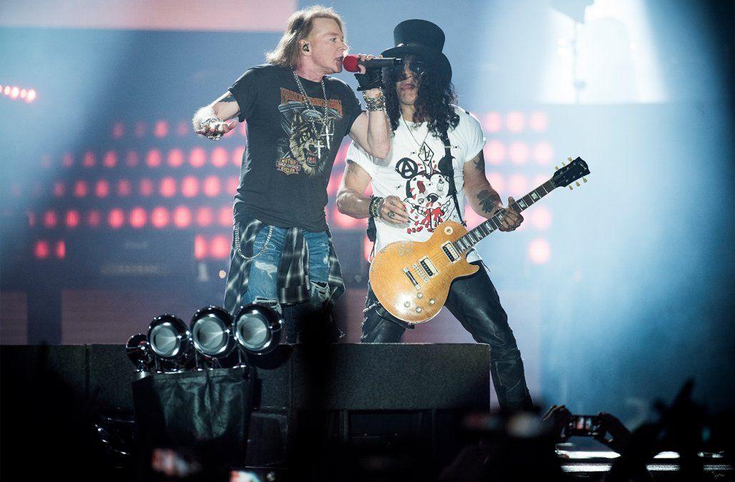Guns N Roses encabezará la décima edición de Lollapalooza Chile
