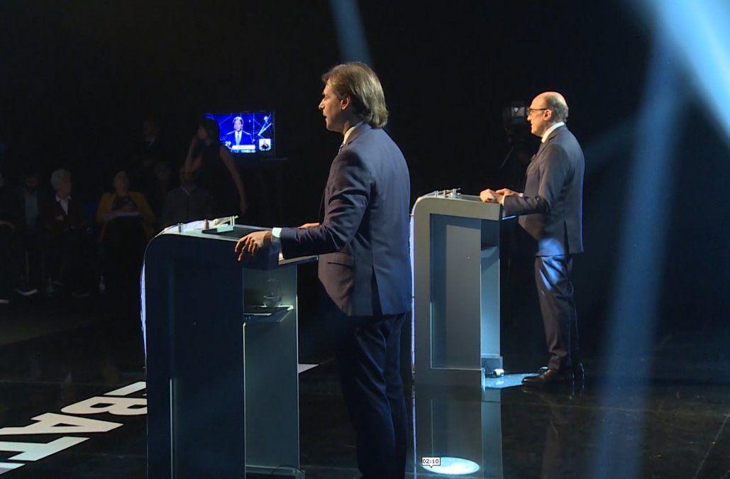 Lacalle Pou pedirá que el debate con Martínez en segunda vuelta sea abierto