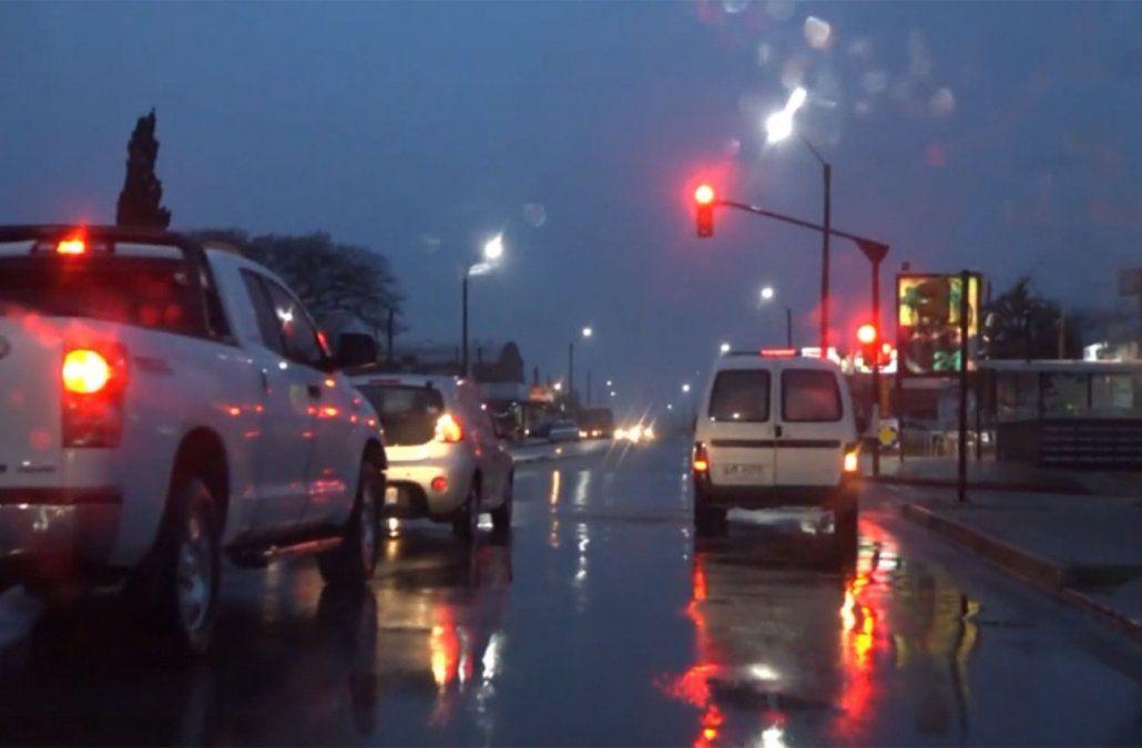 Alerta para 10 departamentos por tormentas fuertes y lluvias intensas