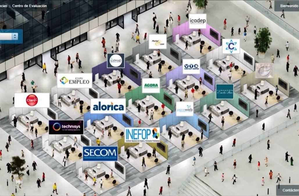 Ofertas laborales de más de 30 empresas a un solo click en ExpoEmpleo