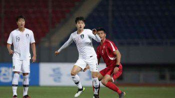 Sin público y sin cámaras, las dos Coreas empataron sin goles en un partido histórico