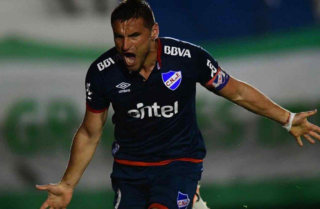 Con dos goles de Bergessio Nacional le ganó a Plaza en el Supicci