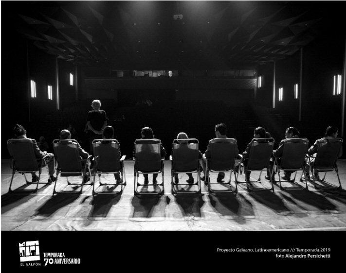 En su 70 aniversario El Galpón presenta Proyecto Galeano