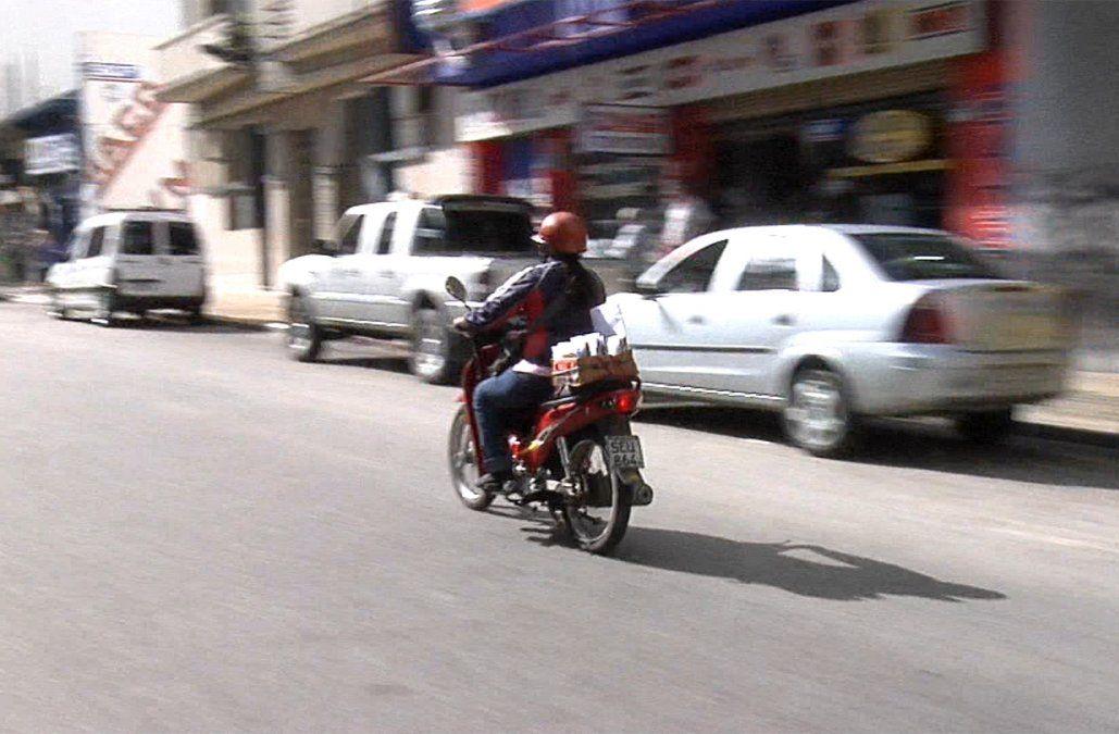 90 deliveries murieron en accidentes de tránsito en el primer semestre del año