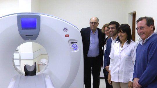 Inauguraron un nuevo tomógrafo en Flores y nuevas salas de internación en Paysandú