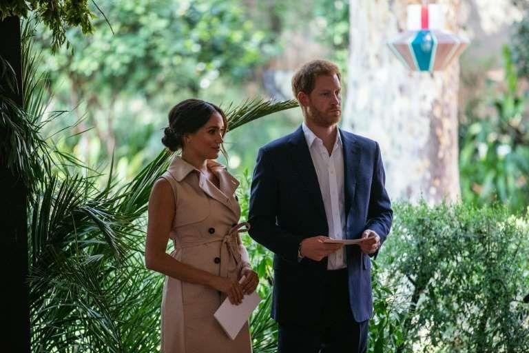 El príncipe y su esposa