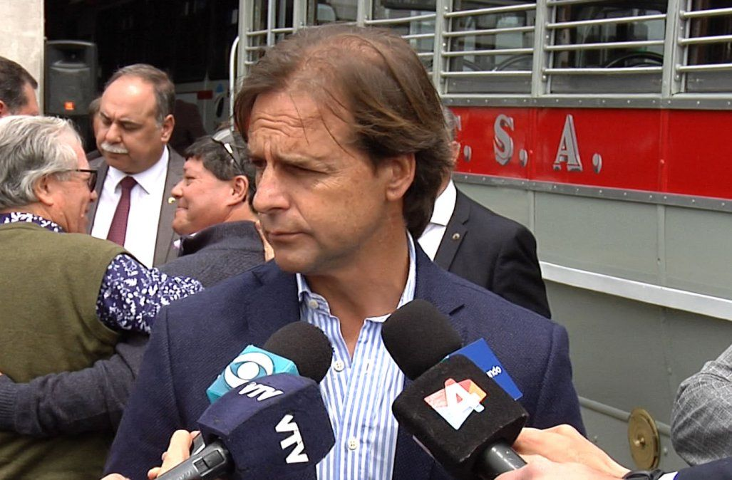 Para Lacalle Pou, no corresponde someter a juicio político a Moreira