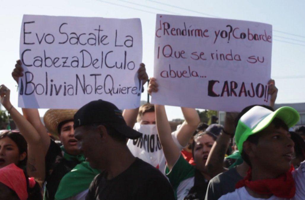 Evo Morales denuncia que está en curso un golpe de estado en Bolivia