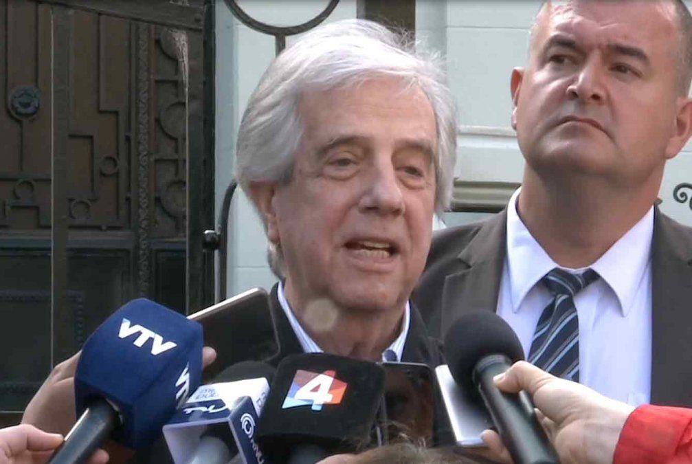 Vázquez habló de su mayor deseo: ponerle la banda al próximo presidente