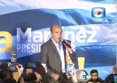 Martínez apeló al voto de batllistas y wilsonistas para la segunda vuelta