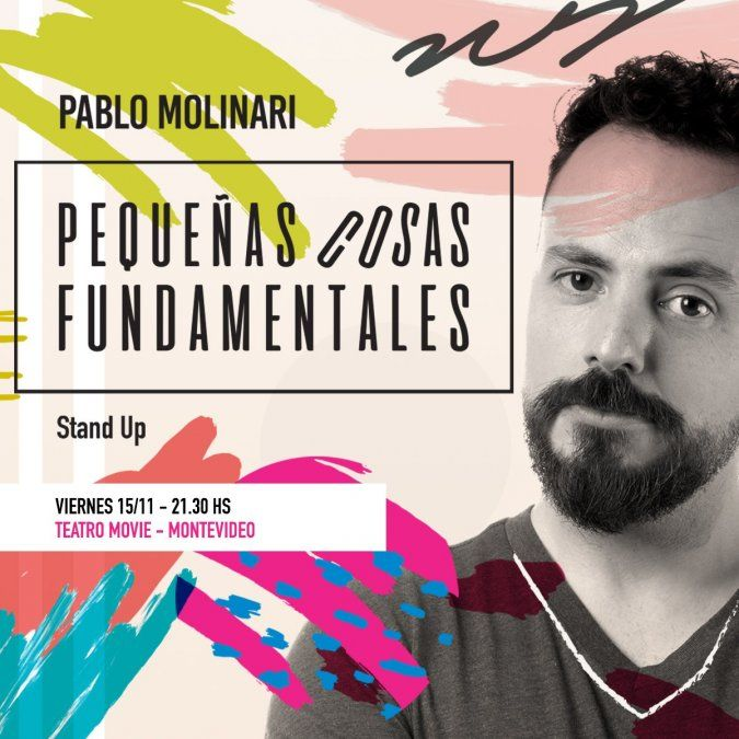 Pequeñas cosas fundamentales, el unipersonal de Pablo Molinari