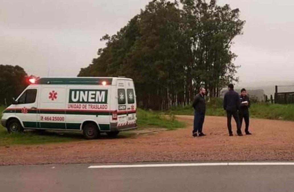 Buscan a un hombre que iba como acompañante en una ambulancia